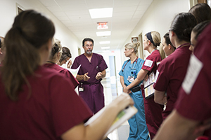 The health careers program can coordinate hospital tours for school clubs